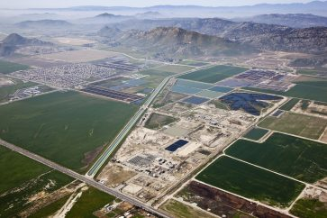 San Jacinto Valley regional water reclamation facility and wetlands